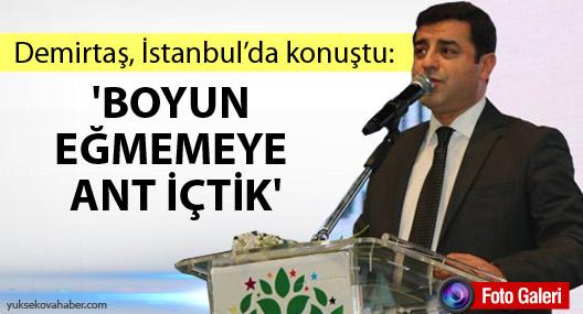 Demirtaş: HDP'nin çomak soktuğu çark basit bir çark değil