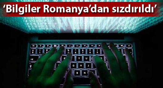 Başsavcılık soruşturması: Kimlik bilgileri Romanya'dan sızdırıldı
