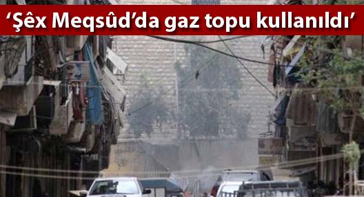 Suriye'deki 7 insan hakları örgütünden Şêx Meqsûd açıklaması