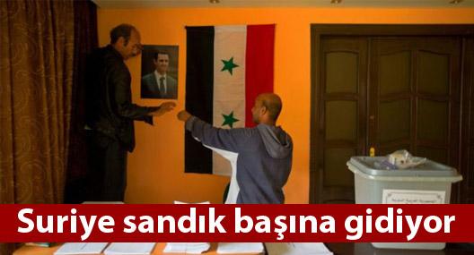 Suriye sandık başına gidiyor