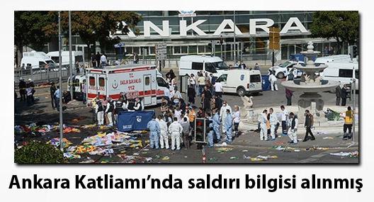 Ankara Katliamı'nda saldırı bilgisi gitmiş ama bir şey yapılmamış