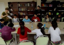 Çocuklarla çizgi film atölyesi