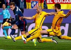 Atletico Madrid, Barcelona'yı yıktı