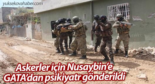 Askerler için Nusaybin'e GATA'dan psikiyatr gönderildi