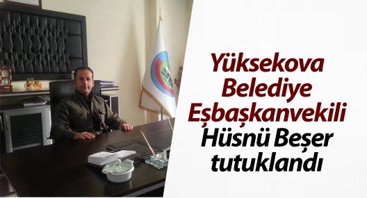 Yüksekova Belediye Eşbaşkanvekili Beşer tutuklandı