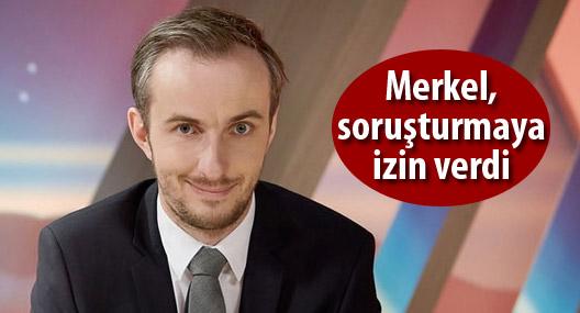 Merkel, Böhmermann hakkında soruşturma açılmasını kabul etti