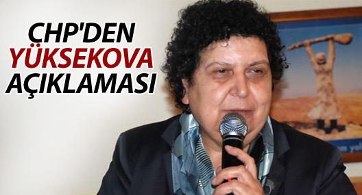 CHP'den Yüksekova açıklaması