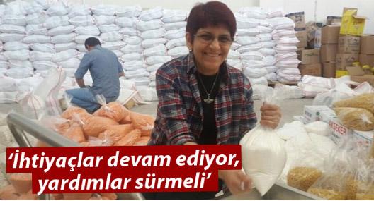 Rojava Derneği: İhtiyaçlar devam ediyor, yardımlar sürmeli
