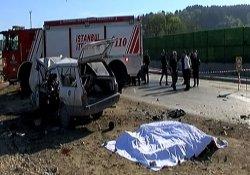 İstanbul'da feci kaza: 4 ölü, 2 yaralı