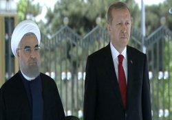 İran Cumhurbaşkanı Ruhani Cumhurbaşkanlığı Külliyesi'nde