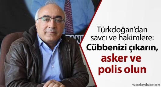 İHD'li Türkdoğan'dan çarpıcı açıklamalar