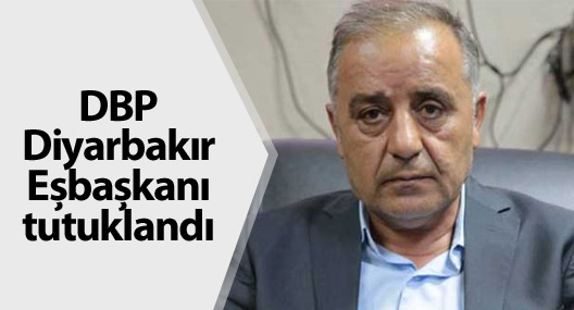 DBP Diyarbakır Eşbaşkanı Ali Şimşek tutuklandı