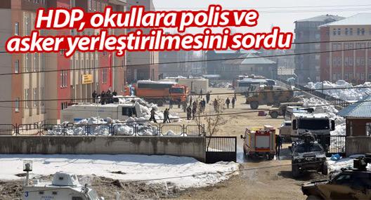 HDP, sağlık ocaklarına polis, asker yerleştirilmesini sordu