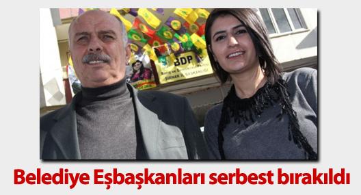 İdil Belediye eşbaşkanları serbest bırakıldı