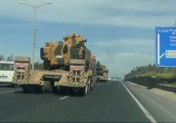 Urfa-Suriye sınırına tank sevkiyatı