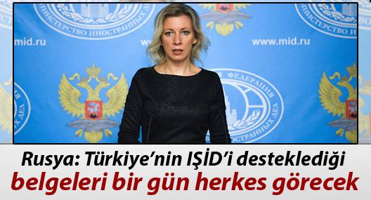 """""""Türkiye'nin IŞİD'i desteklediği belgeleri bir gün herkes görecek"""""""