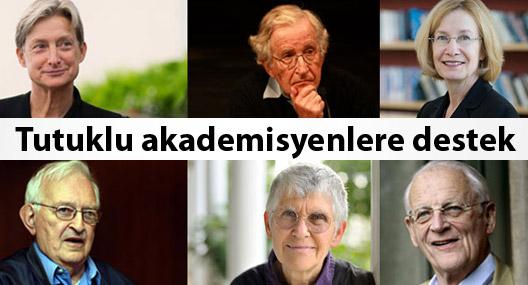 Tutuklu akademisyenlere dünyadan destek