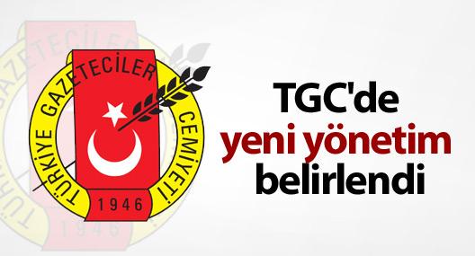 TGC'de yeni yönetim belirlendi
