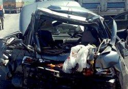 Antep'te kaza: 1 ölü, 4 yaralı