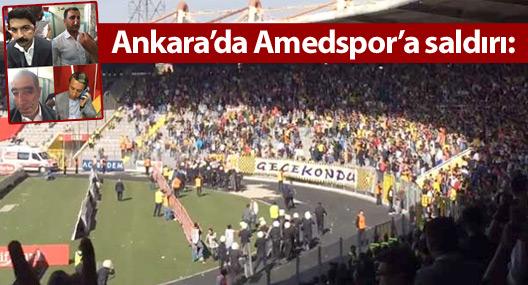 Ankara'da Amedspor'a saldırı: Kulüp yöneticilerine linç girişimi