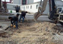 Erciş Belediyesi'nden yol onarım çalışmaları