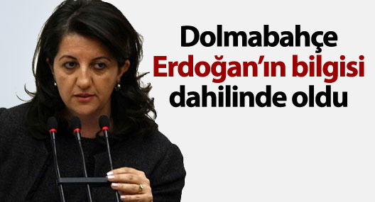 Buldan: Dolmabahçe Erdoğan'ın bilgisi dahilinde oldu