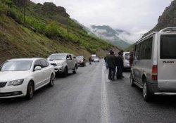 Askeri konvoya roketatarlı saldırı