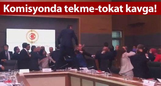 Komisyonda kavga, dokunulmazlık görüşmeleri ertelendi