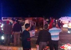 Manisa'da kaza: 2 ölü 26 yaralı