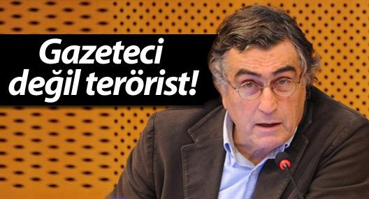 Gazeteci değil terörist!