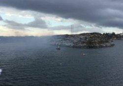 Norveç'te düşen helikopterde '11 kişi öldü'