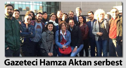 imc tv Haber Müdürü Hamza Aktan serbest