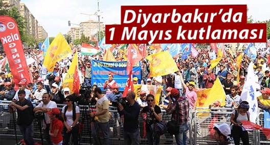 Diyarbakır'da 1 Mayıs: 'Bir yanda bombalar, bir yanda iş güvensizliği'