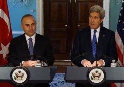 Çavuşoğlu, John Kerry ile görüştü