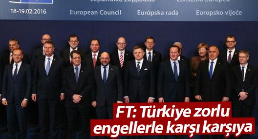 AB'yle vize görüşmeleri FT'de: Türkiye bazı kriterleri yerine getirmeli