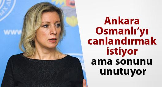 'Ankara Osmanlı'yı canlandırmak istiyor ama sonunu unutuyor'