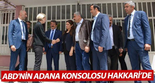 ABD'nin Adana Konsolosu Specht, Hakkari'de