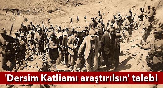 HDP'den 'Dersim Katliamı araştırılsın' talebi