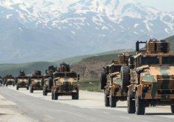 Yüksekova'da askeri hareketlilik sürüyor