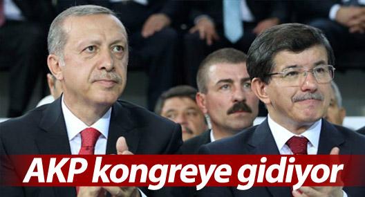AKP kongreye gidiyor