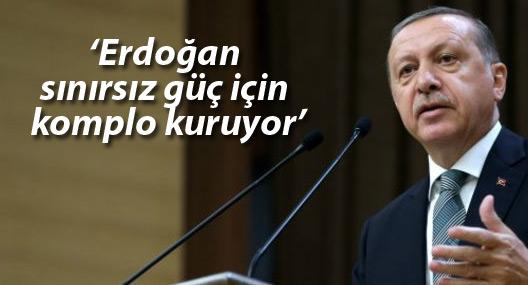 Times: Erdoğan sınırsız güç için komplo kuruyor