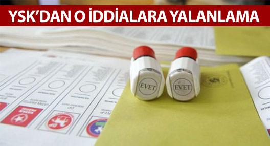 YSK'dan erken seçim iddialarına yalanlama