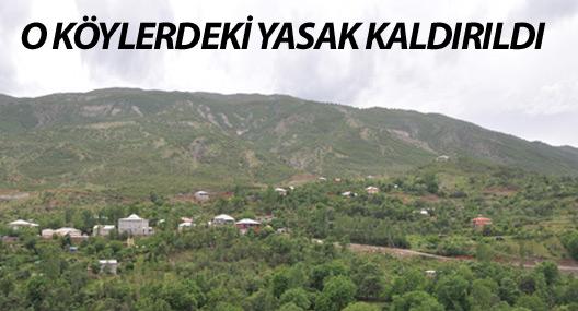 Hakkari'de iki köyde sokağa çıkma yasağı kaldırıldı