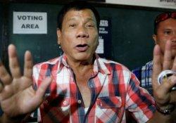 Filipinler'de devlet başkanlığı yarışını Duterte kazandı