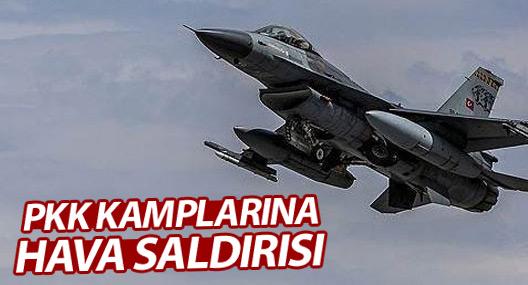 TSK'dan PKK alanlarına hava saldırısı