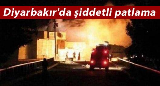Diyarbakır'da Patlama:4 kişi hayatını kaybetti
