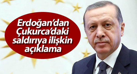 Erdoğan'dan Hakkari'deki saldırıya ilişkin açıklama