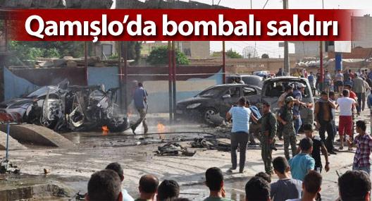 Qamişlo kent merkezinde bomba yüklü araç patlatıldı