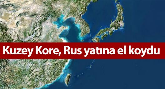 Kuzey Kore, Rus yatına el koydu
