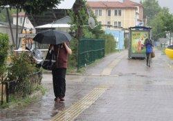 Bursa'da yağmur